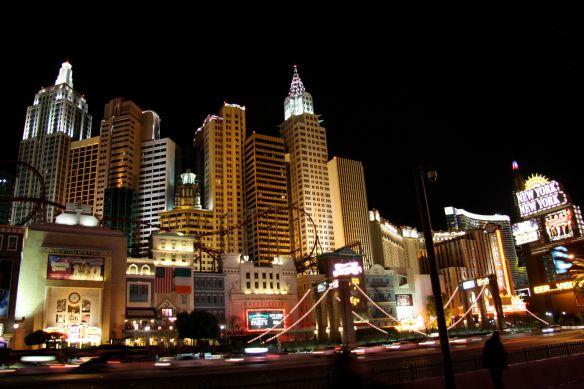 Las Vegas CES 3 NewYork bei Nacht