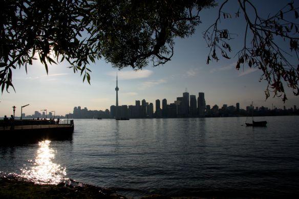 Toronto Ansicht von Island