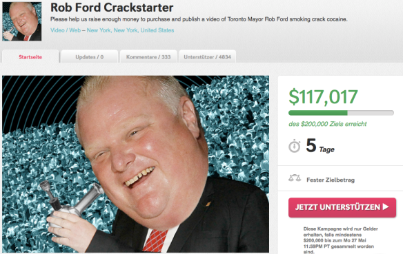 pic Rob Ford und Crack